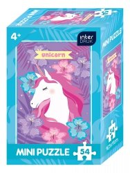 Puzzle MINI 54 el. UNICORN (65081)