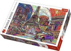 TREFL Puzzle 1000 el. Kolory Paryża (10524)