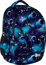 Plecak szkolny młodzieżowy ST.RIGHT wzór kosmiczny, COSMOS BP2 (18987)