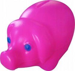 Skarbonka świnka plastikowa RÓŻOWA (00172)