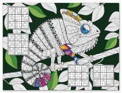 Podkładki papierowe KAMELEON Chameleon, 24 sztuki (PPR000300)