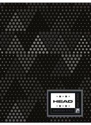 Zeszyt A5 w kratkę 60 kartek HEAD w szare trójkąty, GREY TRIANGLES HD-364 (102019022)