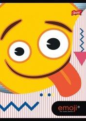 Zeszyt A5 w kratkę 32 kartki Emoji EMOTIKONY (42250)