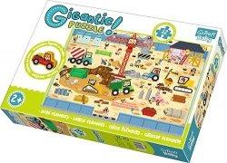 TREFL Gigantic puzzle 12 el. Na budowie (90755)