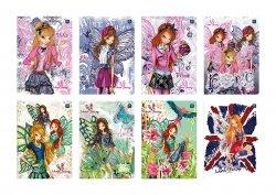 Zeszyt w kolorową linię 16 kartek WINX  (29441)