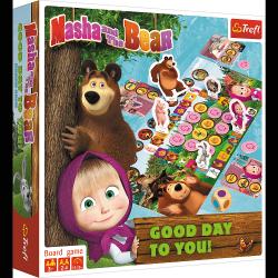 TREFL Gra planszowa Good day to you! Masza i niedźwiedź (01784)