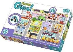 TREFL Gigantic puzzle 12 el. Miasto (90754)