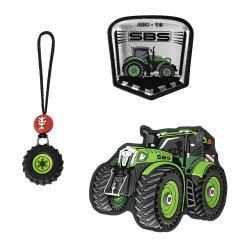 Step by Step zestaw elementów wymiennych SPACE MAGIC MAGS, Green Tractor (139013)