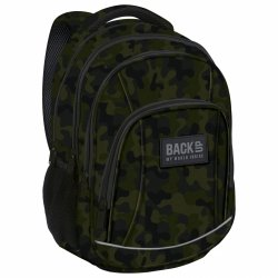 Plecak szkolny młodzieżowy BackUP MORO (PLB2A06)
