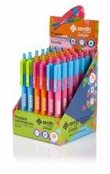 Długopis automatyczny Simple Colorful ZENITH (02443)