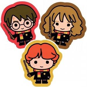 ZESTAW 3 el. PODUSZKA Harry Potter Hermiona Ron PODUSZKI