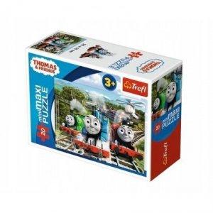 TREFL Puzzle miniMaxi 20 el. Tomek i przyjaciele (21075)