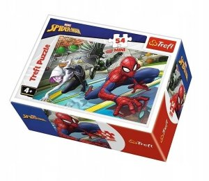 TREFL Puzzle mini 54 el. Spiderman (19605)