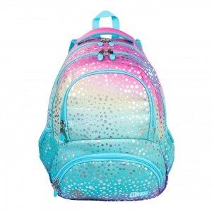 Plecak szkolny młodzieżowy ST.RIGHT syrenka ombre, OMBRE MERMAID BP7 (38800)