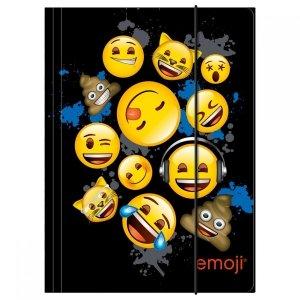 Teczka rysunkowa A4 z gumką Emoji EMOTIKONY (TGA4EM12)