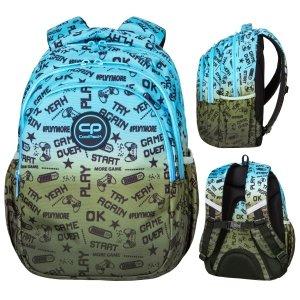 Plecak wczesnoszkolny CoolPack JERRY 21 L gry, GAME (D029338)