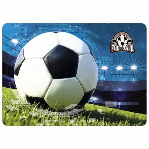 Podkładka laminowana FOOTBALL Piłka nożna (PLAPI16)