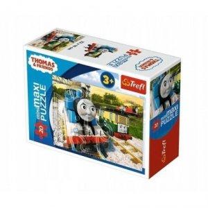 TREFL Puzzle miniMaxi 20 el. Tomek i przyjaciele (21074)