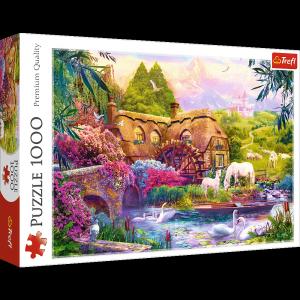 TREFL Puzzle 1000 el. Bajkowa kraina (10496)