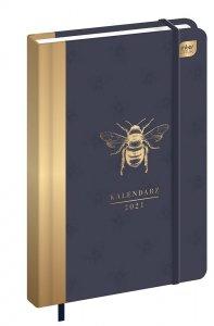Kalendarz książkowy B6 BEE 2021 (92865)