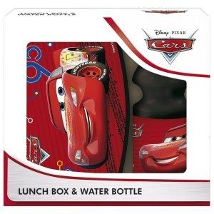 Zestaw bidon i śniadaniówka w kartoniku CARS Auta (ZSBCA46)