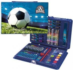 Zestaw artystyczny 71 elementów FOOTBALL Piłka nożna (ZA71PI16)