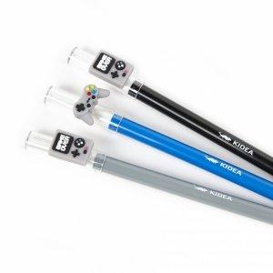 3x Długopis GAME OVER wymazywalny żelowy 0,7 mm KIDEA (DWFEKAD)