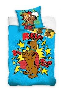 Pościel bawełniana Scooby-Doo 160 x 200 cm komplet pościeli (SD182004)