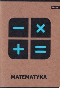 Zeszyt tematyczny przedmiotowy A5 58 kartek w kratkę MATEMATYKA EKO (98393)