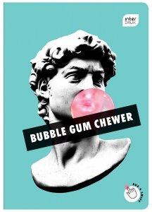 Zeszyt zapachowy A5 60 kartek w kratkę BUBBLE GUM guma balonowa mix (98423)
