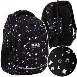 Plecak szkolny młodzieżowy BackUP 26 L TALK (PLB4A16)TIK TOK