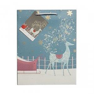 Torebka świąteczna na prezent RENIFER Incood. (0112-0003)