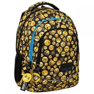 Plecak szkolny młodzieżowy BackUP 26 L Emoji EMOTIKONY (PLB3XEM61)