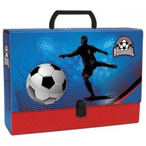 Gruba teczka z rączką FOOTBALL Piłka nożna (TRGPI-03)