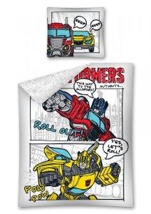 Komplet pościeli pościel Transformers 160 x 200 cm (TRF11)