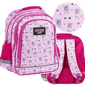 Plecak szkolny w pieski DOGS BackUP (PL15BDF13)