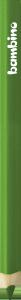 KREDKA TRÓJKĄTNA BAMBINO w oprawie drewnianej CIEMNOZIELONA (03677)