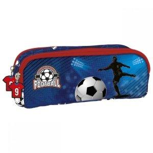 Piórnik dwukomorowy FOOTBALL Piłka nożna (PDZPI15)