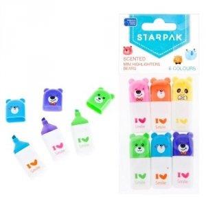 Zakreślacz mini zapachowy 6 kolorów STARPAK (449399)