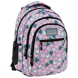 Plecak szkolny młodzieżowy BackUP 26 L SERCA (PLB3O04)