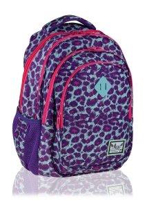 Plecak szkolny HASH 27 L panterka, PINK PANTHER (502020047)
