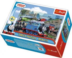 TREFL Puzzle mini 54 el. Tomek i przyjaciele (19548)