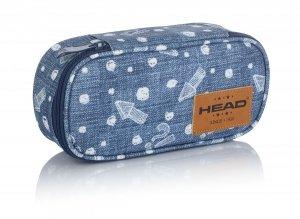 Piórnik szkolny HEAD w strzałki, JEANS VIBES HD-346 (505019096)