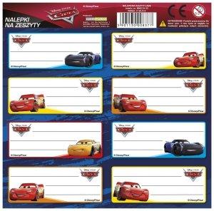 Nalepki na zeszyty CARS AUTA (NNZCA)