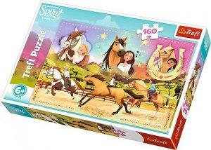 TREFL Puzzle 160 el. Trzy przyjaciółki, Spirit Riding Free (15370)