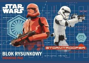 Blok rysunkowy A4 STAR WARS Gwiezdne Wojny (22337)