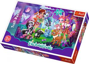 TREFL Puzzle 100 el. Enchantimals, Zabawa z przyjaciółmi (16348)