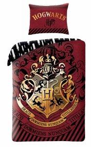 Pościel bawełniana Harry Potter 140 x 200 cm ( HP-8087BL)