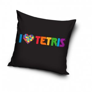 Poszewka na poduszkę  TETRIS  40 x 40 cm (TETR211004)