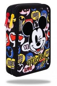 Piórnik CoolPack dwukomorowy z wyposażeniem JUMPER XL Myszka Mickey, MICKEY MOUSE (B77300)